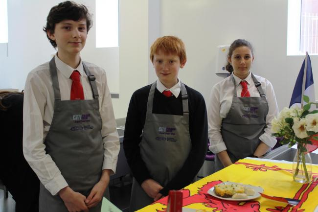 Budding chefs impress in tasty international dish contest