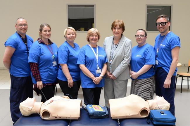 Life-saving skills are at the heart of service
