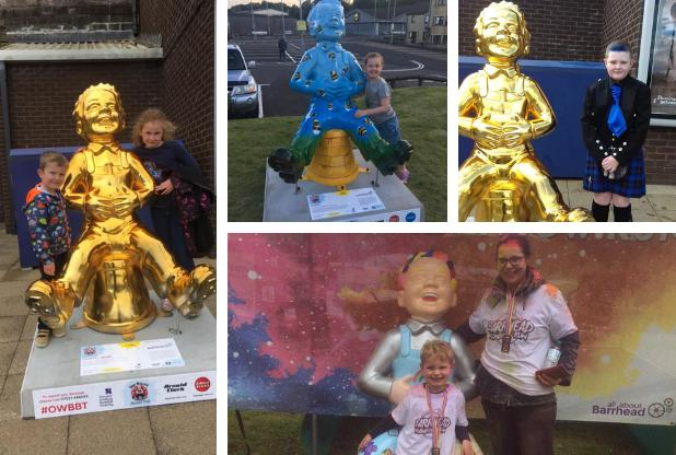 Oor Wullie sculptures capture Barrhead's imagination