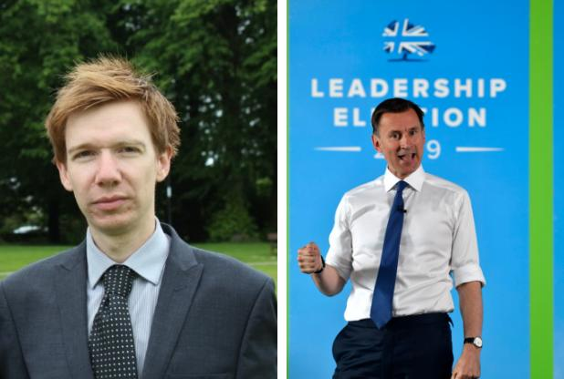 Masterton backs Hunt in race to become UK's next Prime Minister