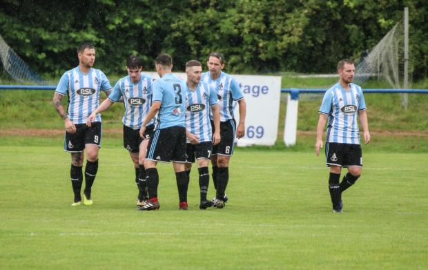 Barrhead News: Free-scoring Lie currently top their Sectional League Cup group after two wins on the bounce (Photo: Robert Wilson)