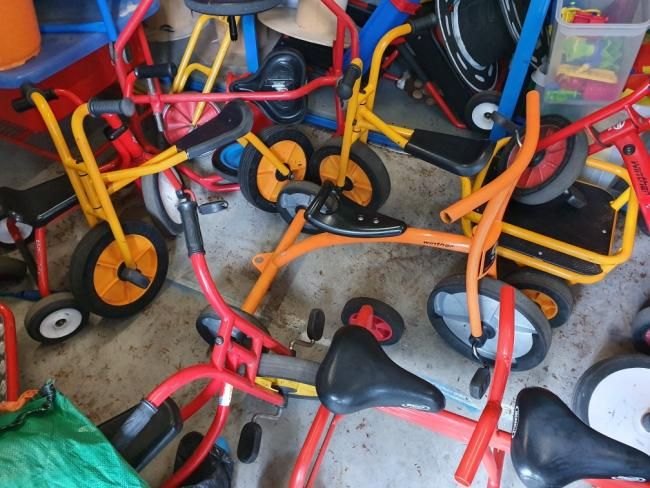 Adapted bikes nicked from Barrhead school
