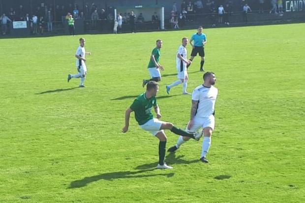 A goal in each half was enough for Neilston to secure the win at James McGrory Park