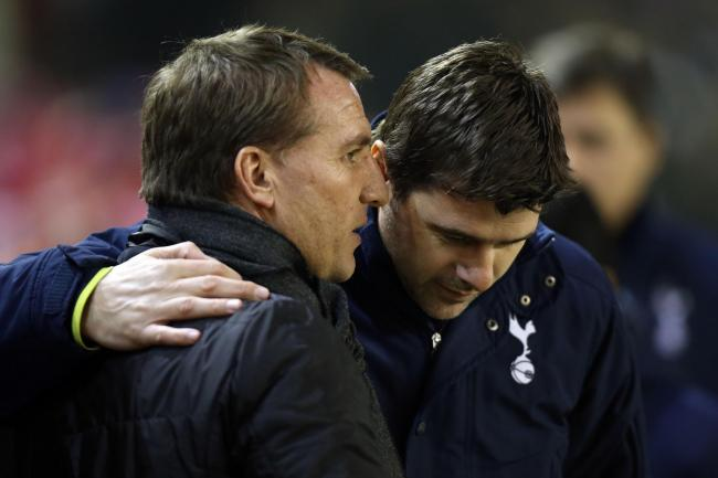 Brendan Rodgers and Mauricio Pochettino have not faced each other since February