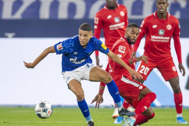 Amine Harit scored one goal and set up another against Mainz (David Inderlied/AP).