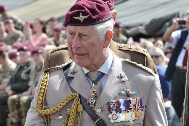 The Prince of Wales is Colonel-in-Chief of the Parachute Regiment
