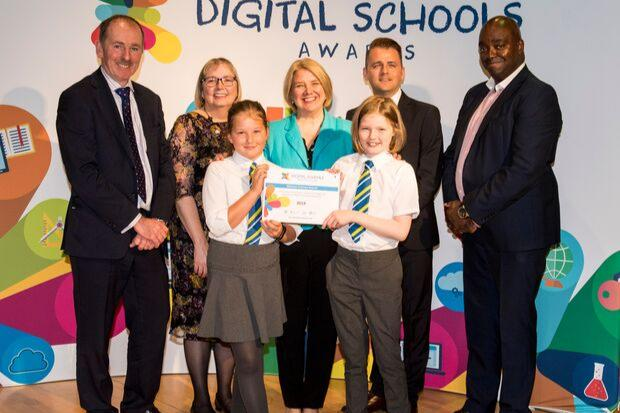 Schools rewarded for effort to boost digital skills among pupils