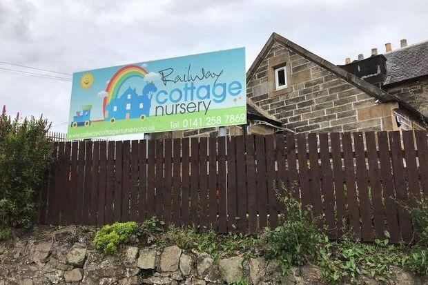 Railway Cottage Nursery, in Barrhead, is among the businesses to be targeted