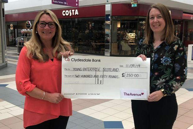 Enterprising pupils boosted by Newton Mearns mall cash