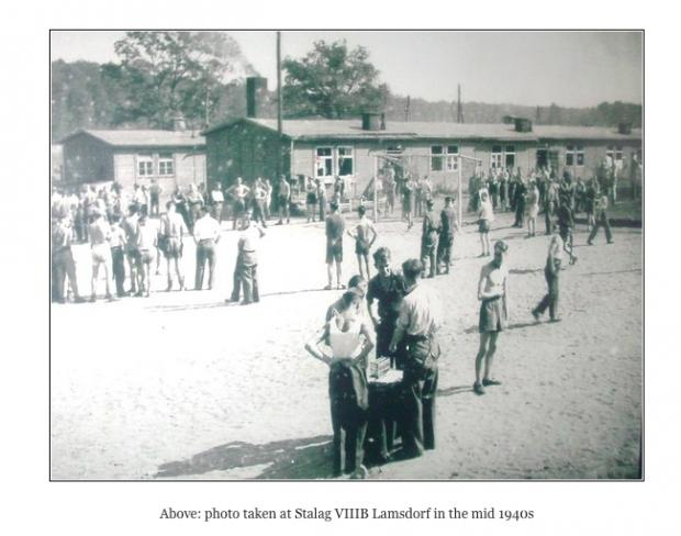 Barrhead News: A photo from the mid-1940s of Stalag VIIIB Lamsdorf, where Pte Ratcliffe was stationed