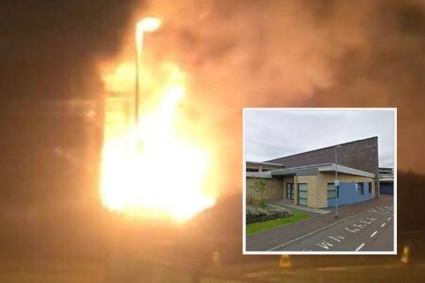 Two teens charged in connection with primary school fire