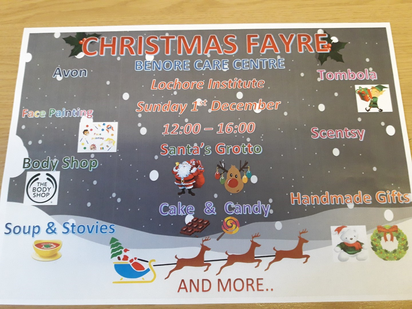 Benore Care Centre Christmas Fayre