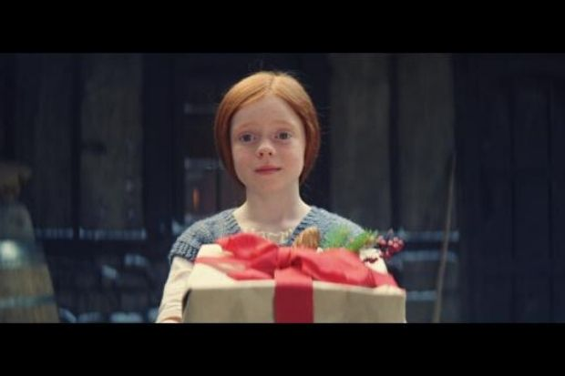Neilston schoolgirl stars in John Lewis' new Christmas advert - Barrhead News