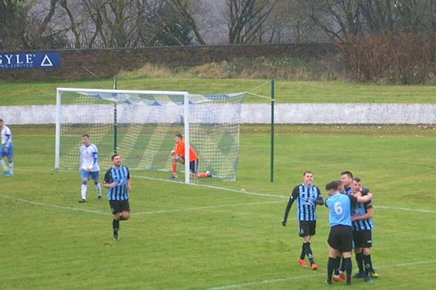 Lie were well worth their win on Saturday with Tam McGaughey the stand out for the Barrhead side
