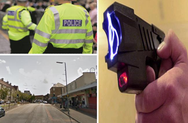 Woman held in custody over alleged possession of taser and CS spray in Thornliebank