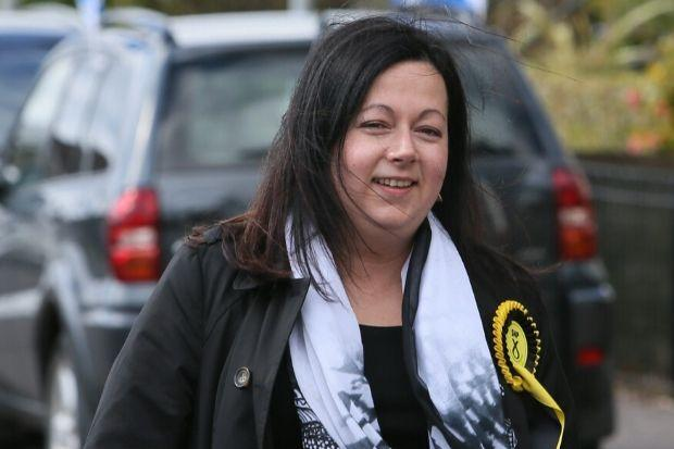 Kirsten Oswald served as East Renfrewshire's MP from 2015 until 2017 and is standing for the SNP again in next month's election