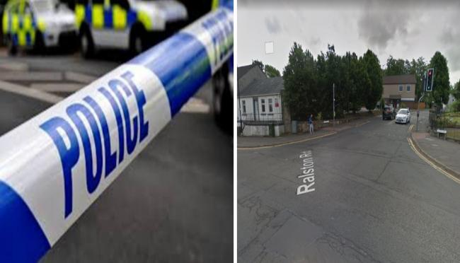 Man was feared dead in Barrhead street