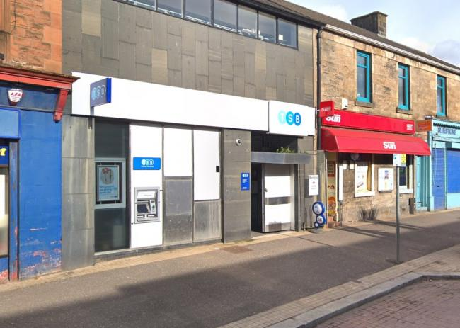 TSB at Cross Arthurlie Street, Barrhead