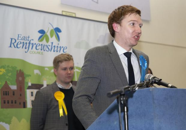 Barrhead News: Paul Masterton speaks after the result is declared