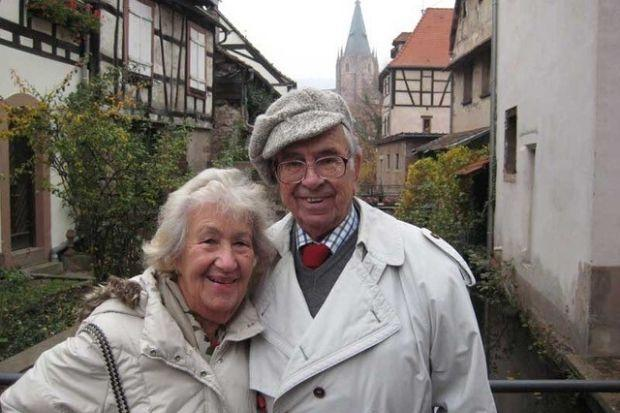 Ingrid Wuga and her husband Henry are both survivors of the Holocaust