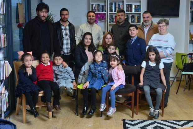 Refugees from Syria have been made welcome in Barrhead