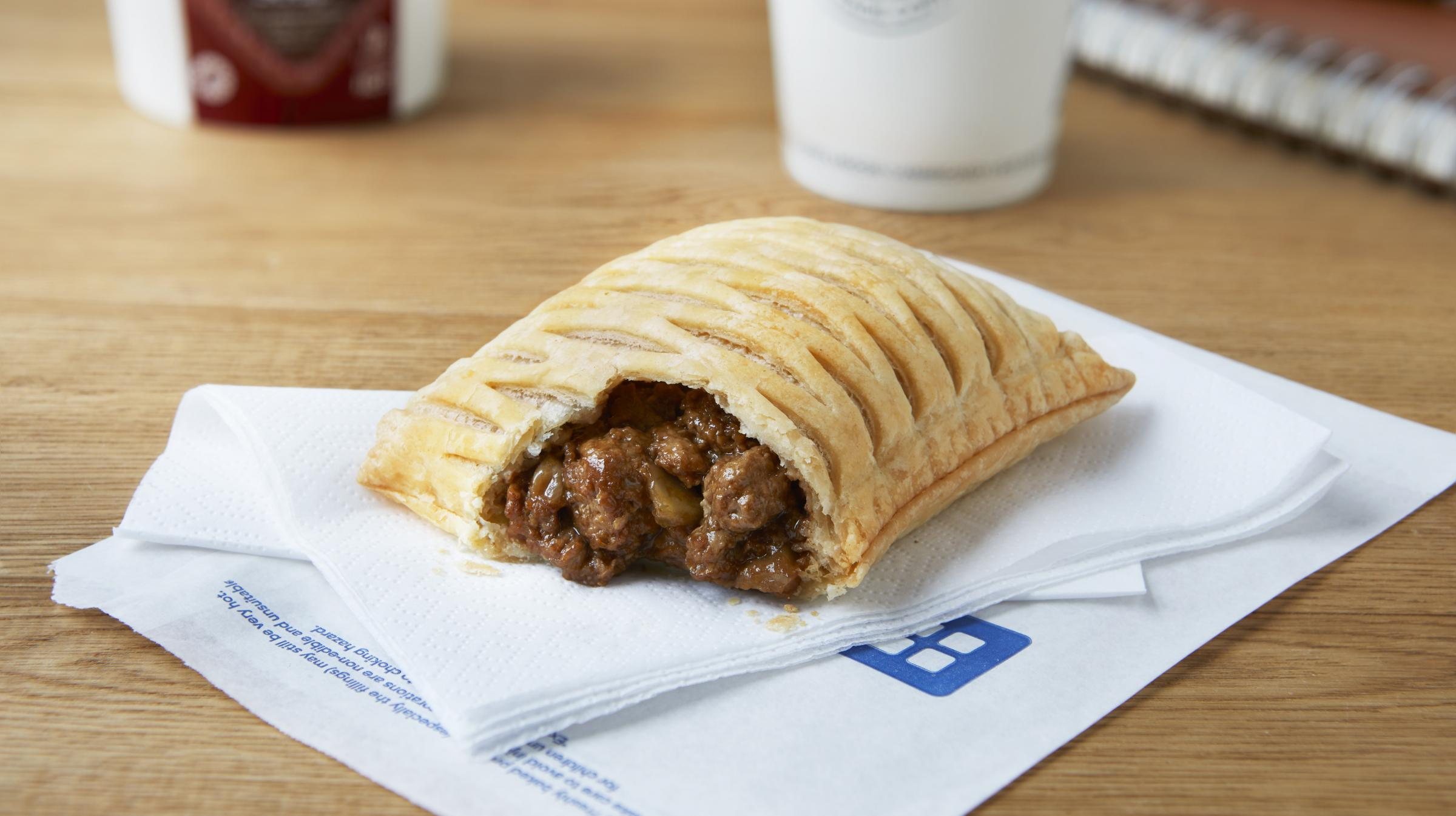 Greggs Joins Up With Just Eat For Nationwide Delivery