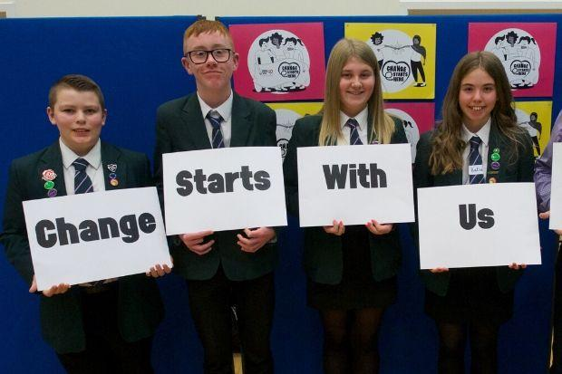 Pupils and staff at Barrhead school are on mission to beat the bullies