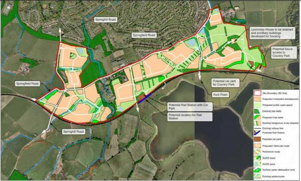 Barrhead News: Detailed plans for the Barrhead South development are in place