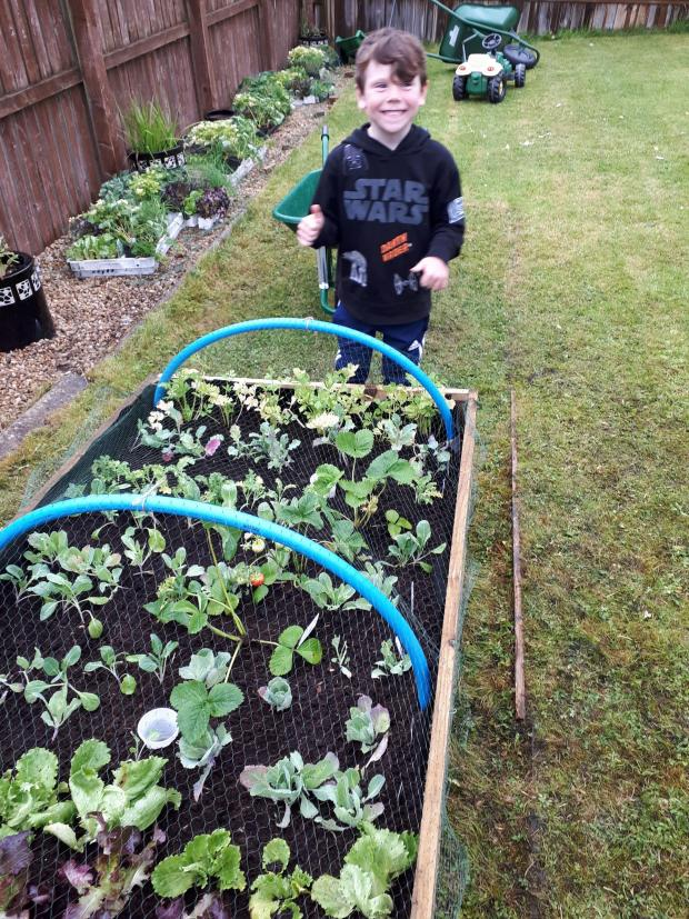 Barrhead News: Charlie Molloy is a fan of 'growing your own'