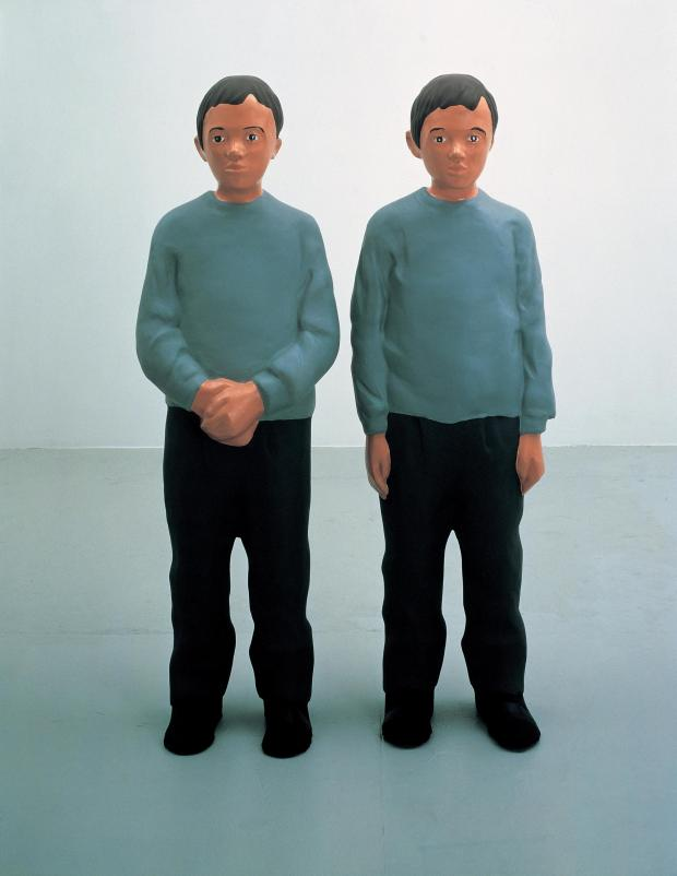 Barrhead News: Creating sculptures of identical twins was twice the fun for Kerry
