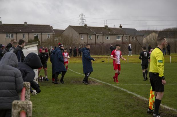 Barrhead News: Neilston co-bosses watch on as Premiership contenders Lok dump them out of the cup