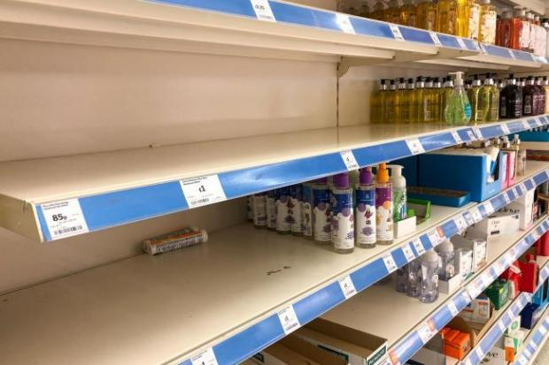 Barrhead News: Empty supermarket shelves were a common sight at the start of lockdown