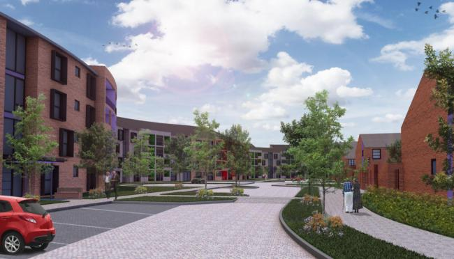East Renfrewshire Council has ruled an 80-bed care home, 38 houses and 214 flats can be built on land at Netherplace Works, in Newton Mearns