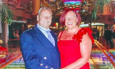 David Cuthbertson and his partner Dianne McGovern spent 17 years together