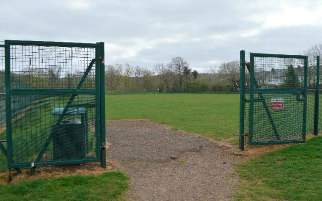 The new sports pitch is to be built at playing fields used by children at Netherlee Primary