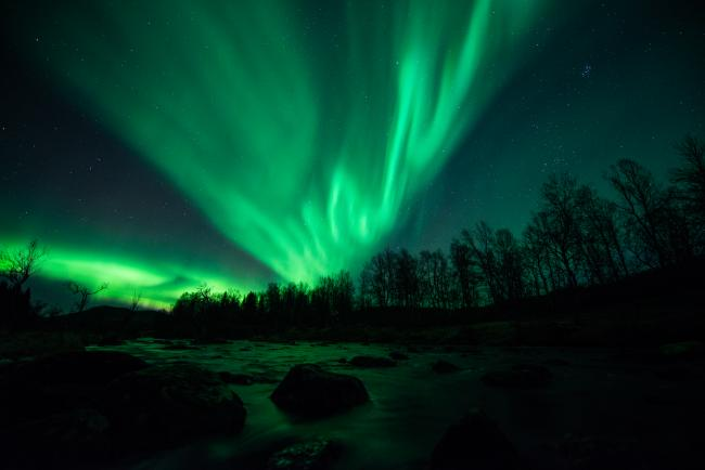 The Northern Lights, site: Stian Klo