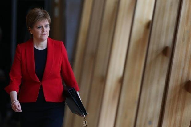 Nicola Sturgeon announced the move to the toughest restrictions.