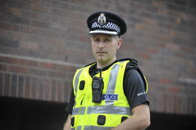 Chief Superintendent Mark Sutherland is divisional commander