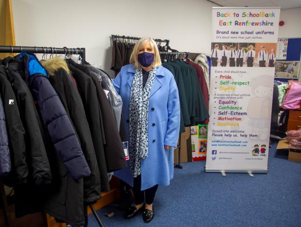 Barrhead News: Thousands of children have benefited from clothes donated to Sandra's charity