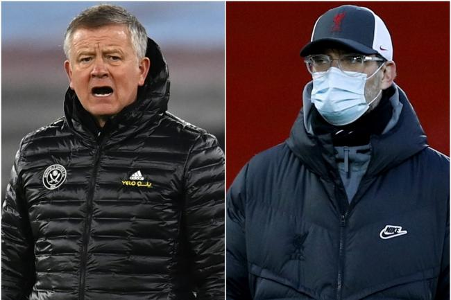Chris Wilder and Jurgen Klopp