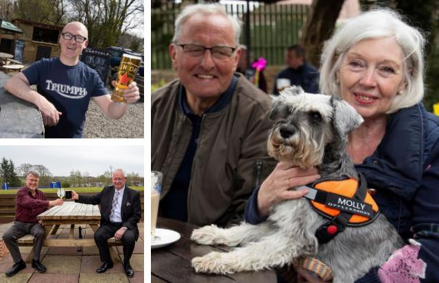 Cheers all round as beer gardens and shops finally reopen