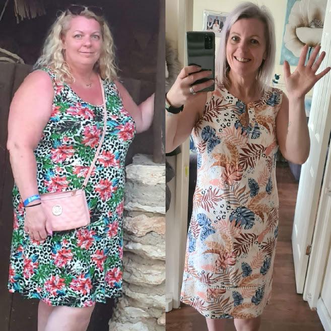 Neilston: Mum Shona Corfield shares weightloss journey