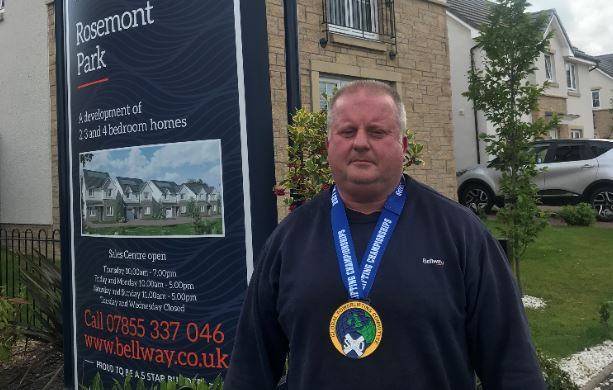 Barrhead: Fork-lift operator powers his way to world record