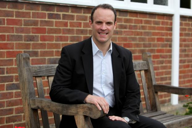 Barrhead News: Pleased: Dominic Raab welcomed the news