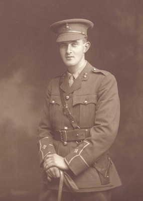 Lt Patrick Joseph McCusker died in the Battle of the Ancre in 1916