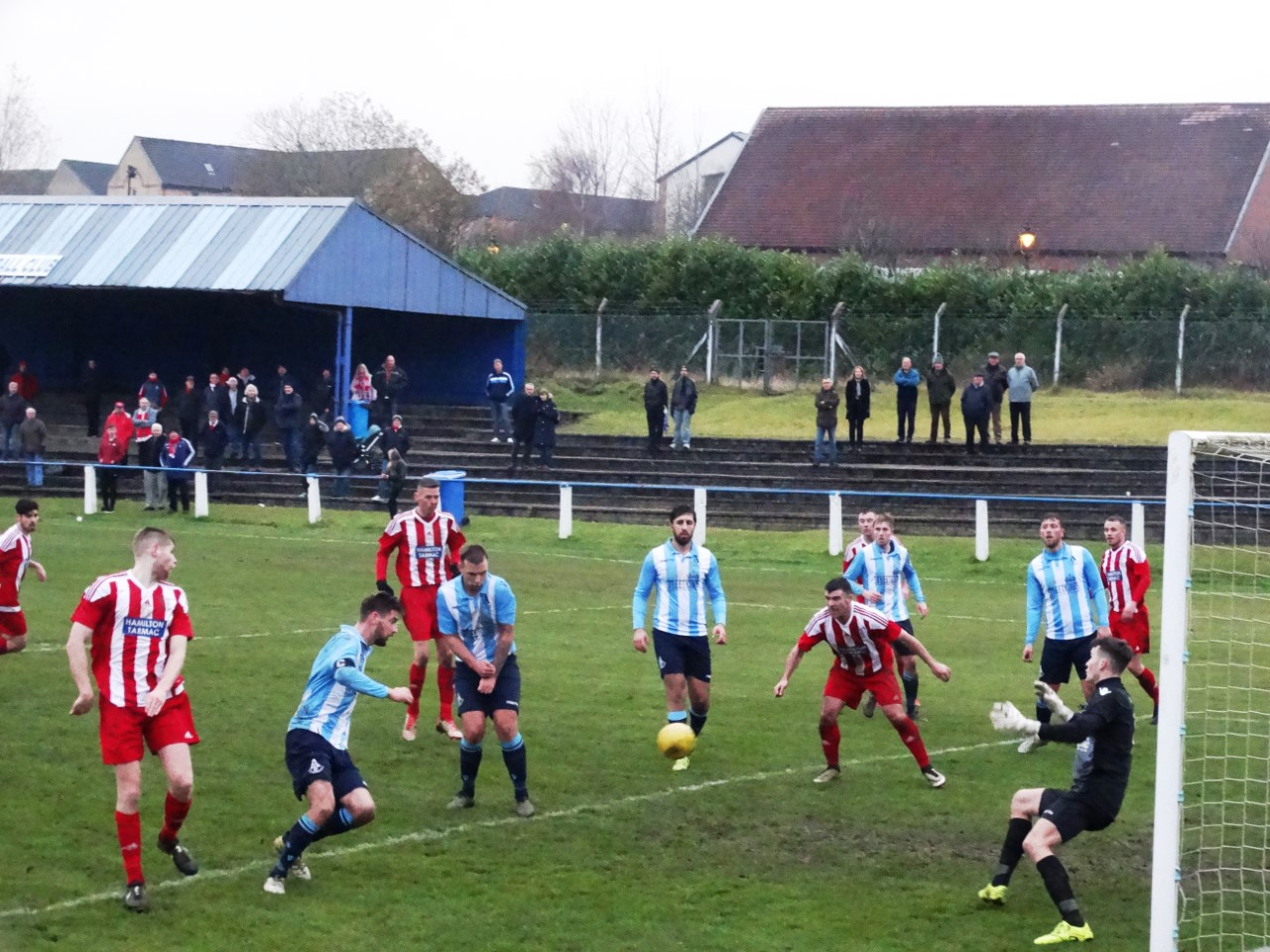 Kean nets Hurlford United's fifth in their 5-4 win