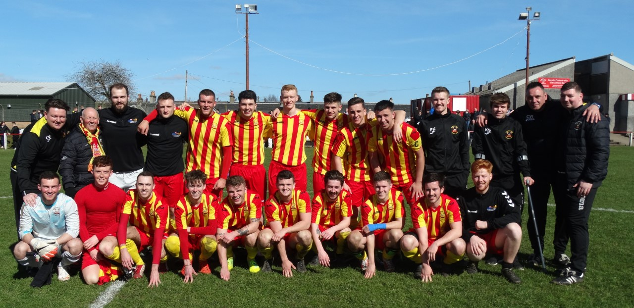 Barrhead YFC under-21s will face Rutherglen Glencairn in the Scottish Cup final