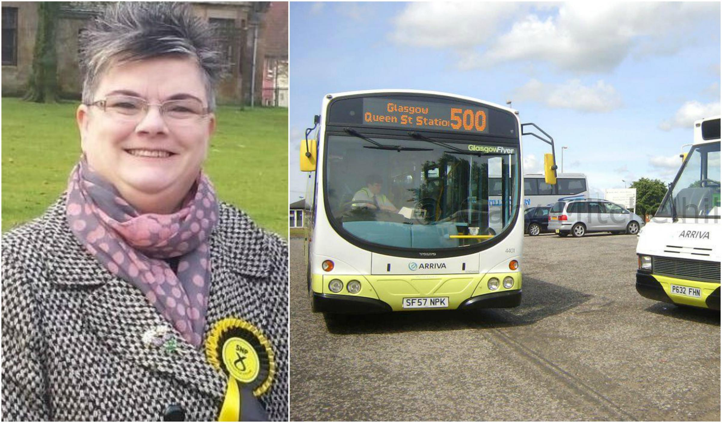 Barrhead, Liboside and Uplawmoor representative Angela Convery once worked as a bus driver with Arriva and Stagecoach