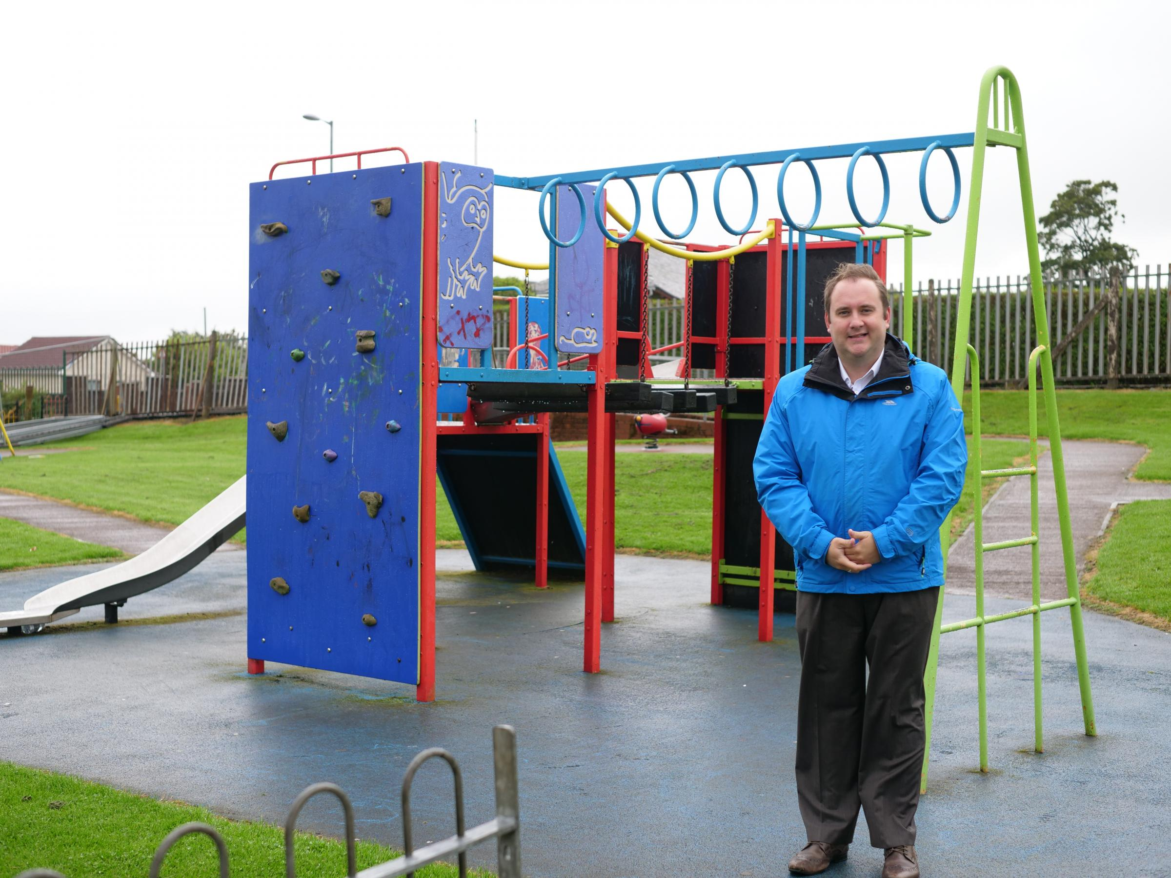 Councillor Paul O'Kane has welcomed the investment, which will include new play equipment