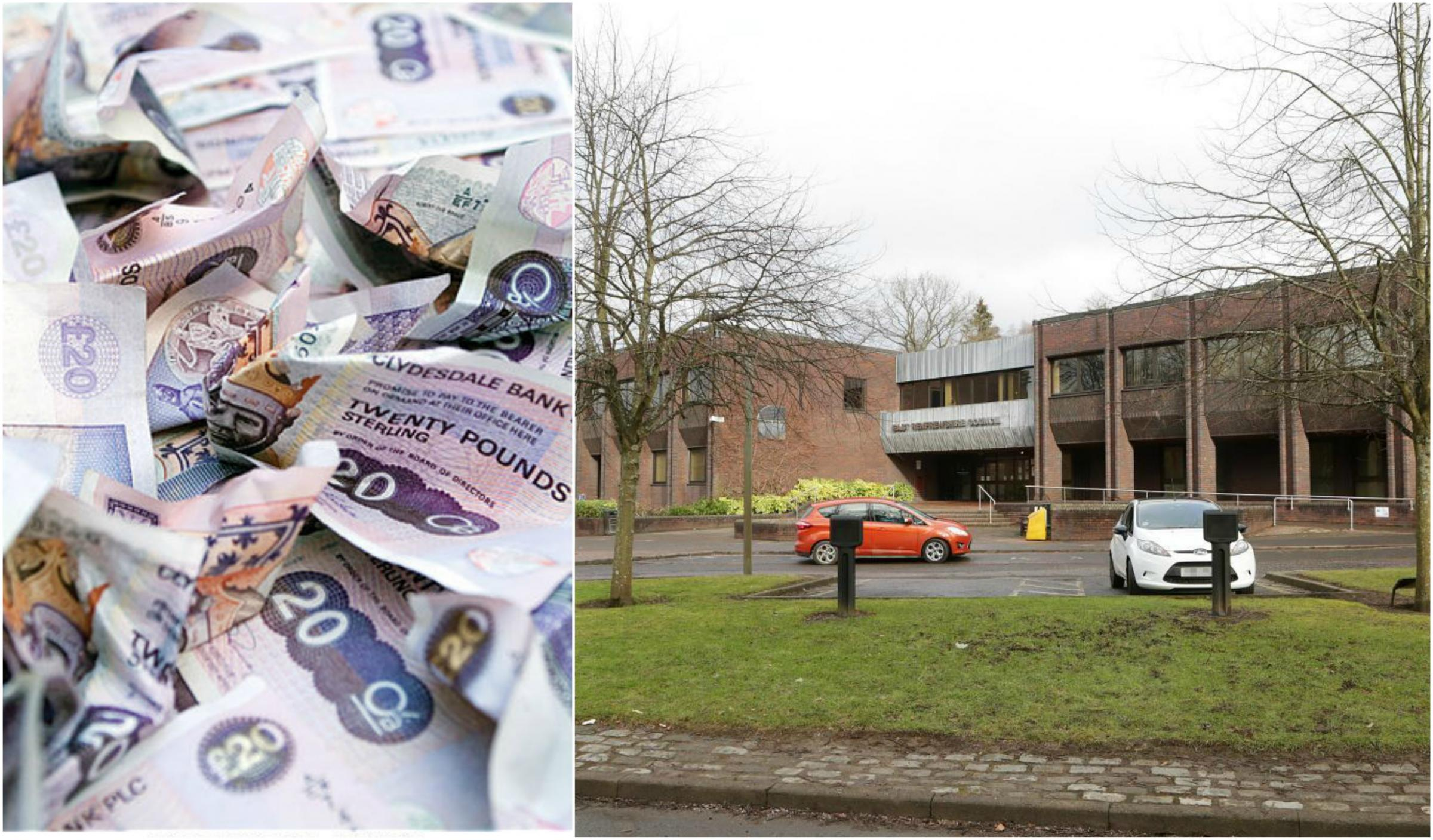 Anger over East Renfrewshire councillors' 'bumper' pay rises